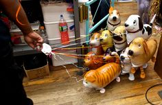 At the Balloon Saloon, Toys, Glitter and Floating Animals - NYTimes.com