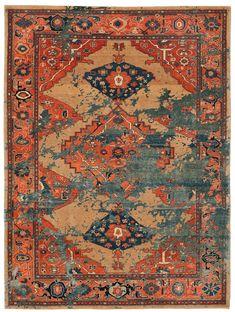 Erased Heritage rugs by Jan Kath
