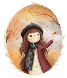 Me gusta, 43 comentarios - Annaemiliaillustrations ( - Collective Illustration Art Projects - Sweet Art And Illustration, Character Illustration, Watercolor Illustration Children, Book Illustrations, Cartoon Wallpaper, Cartoon Drawings, Cute Drawings, Anime Drawing Books, Mode Poster