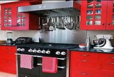 Red And Black Kitchen Ideas - Bing Images