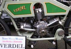 VERDEL FIVE CYLINDER 750cc OHV RADIAL ENGINE