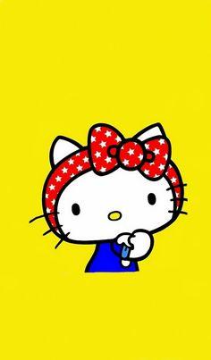 Lock Screen Wallpaper  C2 B7o Kitty Arto Kitty Tattooso Kitty My Melodyo Kitty Birthday