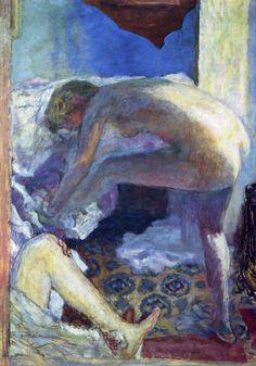Pierre Bonnard, The Big Blue Naked, 1924