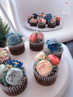 Choco Chocolate Cupcakes & Mocha Cupcakes for Baby Boy Shower Party  #buttercream #FlowerCupcake #SpecialCake #SpecialGift #BabyShower #party #cupcakes #Design #organic #healthy #Dessert #handmade #vancouver ...made by #SpecialMoment   https://www.facebook.com/specialmomentcake