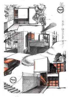 Architecture Sketches, Architectural Prints, Floor Plans, Art, Art Background, Kunst, Architectural Sketches, Performing Arts, Floor Plan Drawing
