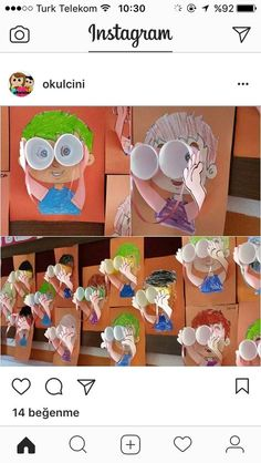 9 Easy & Best Grandparents Day Crafts And Ideas For Kids And Preschoolers Kindergarten Art, Preschool Crafts, Projects For Kids, Crafts For Kids, Grandparents Day Crafts, Art Classroom, Summer Crafts, Teaching Art, Elementary Art