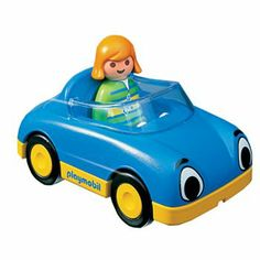 Playmobil 1.2.3 6758: Convertible