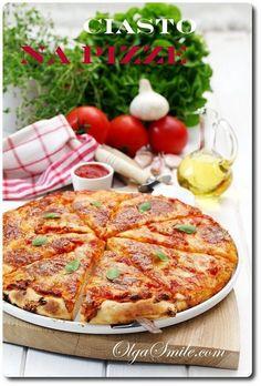 Ciasto na pizze To jest przepis na ciasto na pizze na grubym i na cienkim cieście. Trzeba przyznać, że dobre ciasto na pizze, taką pizze włoską, tradycyjną, na cienkim lub grubym cieście wymaga dobrej jakościowo mąki.
