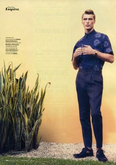 Clement Chabernaud by Alfonso Ohnur for Esquire Spain (February 2013)
