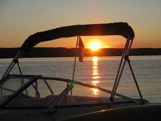 Sunset on Lake of Bays, Muskoka