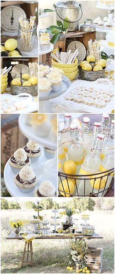 Lemon Garden | http://awesome-party-ideas-collections.blogspot.com