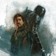 Cassian & K-2SO by James Cook