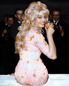 Brigitte Bardot colorized by klimbims