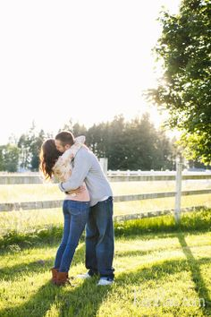 So in love! Nicole & Robbie Beloved Engagement Session, couple poses, engagement poses, connection session | Kari Rae Photography, Portland Engagement Photographer, Oregon Love Photographer