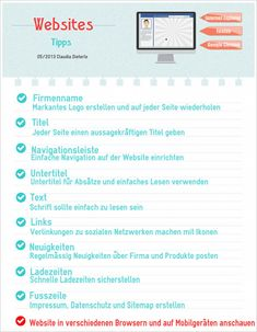 Infographic Tips for websites Internet, Social Media, Names, Website, Reading, Create Logos, Company Names, Tips, Info Graphics