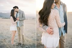 Heels make your legs go on for miles! Engagement Outfit Inspiration. Miller Weddings Austin TX Wedding Photographer www.millerweddings.com
