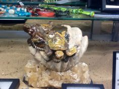 Handcarved Sea Turtles on Onyx Base - must have for the collector.