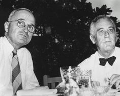 Harry Truman and Franklin D. Roosevelt Photo