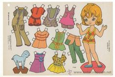 laminas de muñecas de papel - Buscar con Google