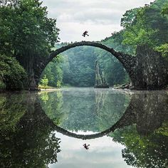 Rakotzbrücke Devil's Bridge – Gablenz, Germany | Atlas Obscura