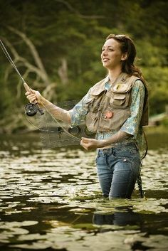 Fly Fishing Babes | Fly Fishing women do it too. | flyfishing