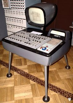#AKAT 1 analog computer. Museum of Technology Muzeum Techniki Warsaw Poland