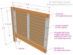 """Awesome """"murphy bed plans queen"""" info is offered on our site. Have a look and yo… Awesome """"murphy bed plans queen"""" info is offered on our site. Have a look and you wont be sorry you did. King Bed Frame, Bed Frame And Headboard, King Size Headboard, Wood Headboard, Headboards For Beds, Bed Frames, Murphy Bed Ikea, Murphy Bed Plans, Lit Queen Size"""
