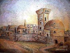 Jerusalem Painting - Jerusalem... A Place Of Hope And Heartbreak by Hazel Holland