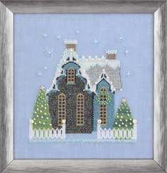 NC 163_Little Snowy Blue Cottage_1/4