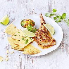 Recette de lapin : Gigolette de lapin citron gingembre, salsa exotique - LapinToutBon