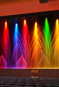 Rainbow Light Show!! Dale color a tu vida!!! @Ana Victoria Lagos @Patricia Gallardo @Paty Mena