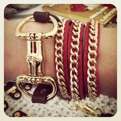 Brown Buckle   #wrapbracelet fun. #bracelet  #jewelry     www.shoplaurennicole.com