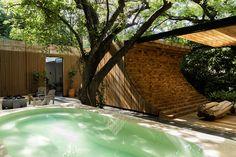 Casa Mague - Picture gallery Mexican Designs, Outdoor Gardens, Facade, Living Spaces, 1, Design Inspiration, Exterior, Gallery, Outdoor Decor