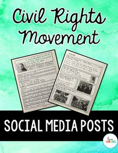 This resource allows students to create social media posts from the perspective… 5th Grade Social Studies, Social Studies Classroom, Social Studies Resources, Teaching Social Studies, Teaching History, Teaching Tips, Movement Activities, Music Activities, Interactive Activities