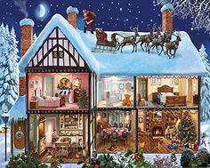 White Mountain Puzzles Christmas House Jigsaw Puzzle (100... https://www.amazon.com/dp/B017LXQCGO/ref=cm_sw_r_pi_dp_x_x35oybHEDZE7N