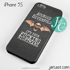 Avenged Sevenfold Quotes 2 Phone case for iPhone 4/4s/5/5c/5s/6/6 plus