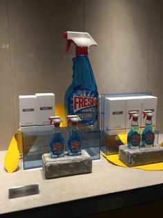 """MOSCHINO,Pacific Place, Hong Kong, """"It's Always Fresh"""", photo by Lincoln Keung, pinned by ton van der Veer"""