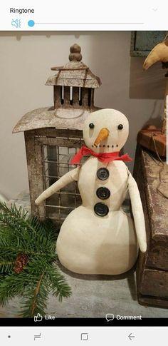 Primitive Christmas, Snowman, Christmas Ornaments, Holiday Decor, Outdoor Decor, Home Decor, Decoration Home, Room Decor, Christmas Jewelry