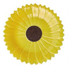 "14"" Sunflower Platter | Christmas Tree Shops andThat!"