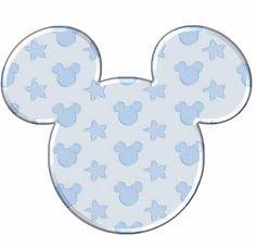 Cabezas de Mickey con rellenos interesantes. Festa Mickey Baby, Fiesta Mickey Mouse, Mickey Party, Mickey Minnie Mouse, Mickey Mouse Baby Shower, Baby Mouse, Mickey Mouse First Birthday, Disney Planner, Mickey Mouse Invitation