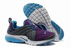 lowest price 36481 89c2a Nike Air Presto V6 Frauen Schuhe Grau Lila Blau