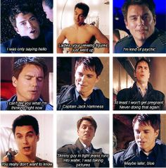 The many faces of Captain Jack Harkness