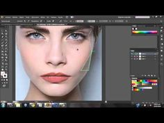 ▶ #LOW POLY Crea un retrato con figuras poligonales y degradados con adobe illustrator y photoshop - YouTube
