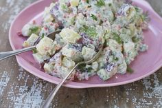 No summer barbecue is complete without a creamy potato salad. But this one won't put on the pounds and will earn you plaudits.