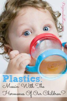 Plastics Messin' With The Hormones Of Our Children?