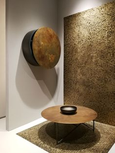 The physical texture looks like it's interesting to touch Home Design, Interior Design Trends, Commercial Interior Design, Contemporary Interior Design, Home Decor Trends, Milan Furniture, Cool Furniture, Modern Furniture, Italian Furniture Design