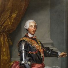 Carlos III, 1765- Anton Raphael Mengs - Museo Nacional del Prado