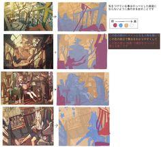 Digital Painting Tutorials, Digital Art Tutorial, Art Tutorials, Hand Drawing Reference, Art Reference, Concept Art Tutorial, Composition Art, Learn Art, Environmental Art