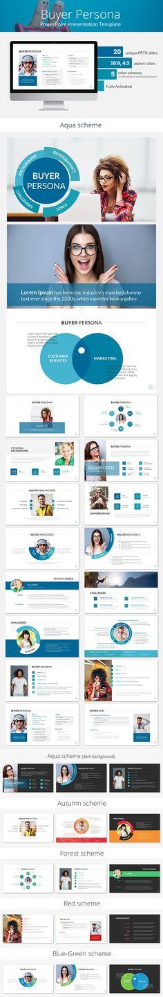 Buyer Persona PowerPoint Presentation Template