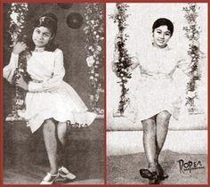 Blast from the Past: Nora Aunor and Vilma Santo Location: Philippines wayback Nora Aunor, Sampaguita, Manila Philippines, Pinoy, The Past, Culture, History, Dress, Saints